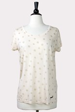 Numph Blush Dot Tee