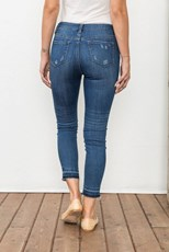 Mystree Morgan Skinny Ankle Jeans
