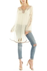 Aratta Valentina Embroidered Tunic