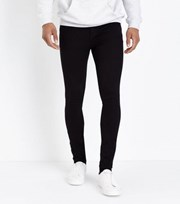 New Look Black Dark Wash Super Skinny Stretch Jeans