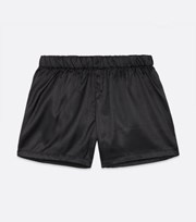 New Look Black Satin Boxers