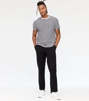 New Look Black Slim Fit Chinos