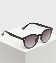 New Look Girls Black Round Sunglasses