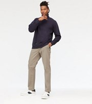 New Look Grey Slim Fit Chinos