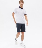 Jack & Jones Navy Chino Shorts