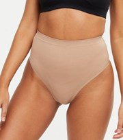 New Look Mink High Waist Seamless Smoothing Thong