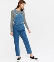 Urban Bliss Bright Blue Denim Dungarees