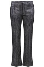 Isabel Marant DENLO TAILORED PANT METALLIC SILVER