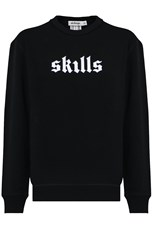 Marnie Skillings SKILLS CREW NECK SWEATER BLACK