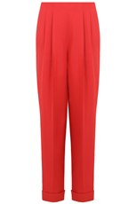 Delpozo TAPERED PANTS RED