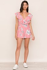 Yumi Kim Call Back Romper Rose Duet Pink